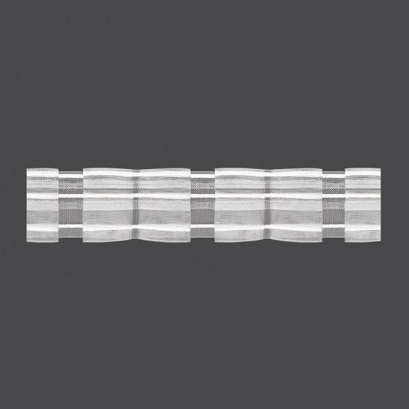 Taśma marszcząca z podwójną zakładką M/U2Z - 1:2,6 - 5 cm
