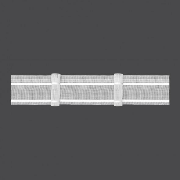 Taśma marszcząca z pojedynczą zakładką M/U4Z - 1:1,5 - 5 cm