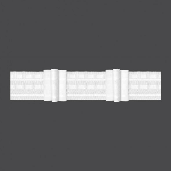 Taśma marszcząca z potrójną zakładką M/U3K - 1:2 - 5 cm