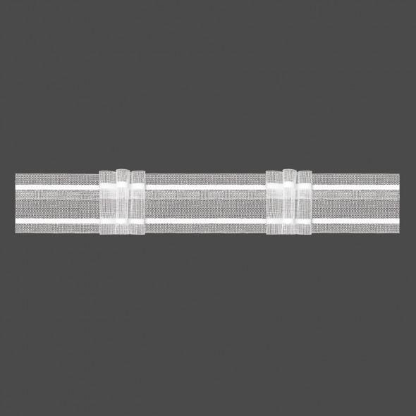 Taśma marszcząca z potrójną zakładką M/Z7Z - 1:2 - 4 cm