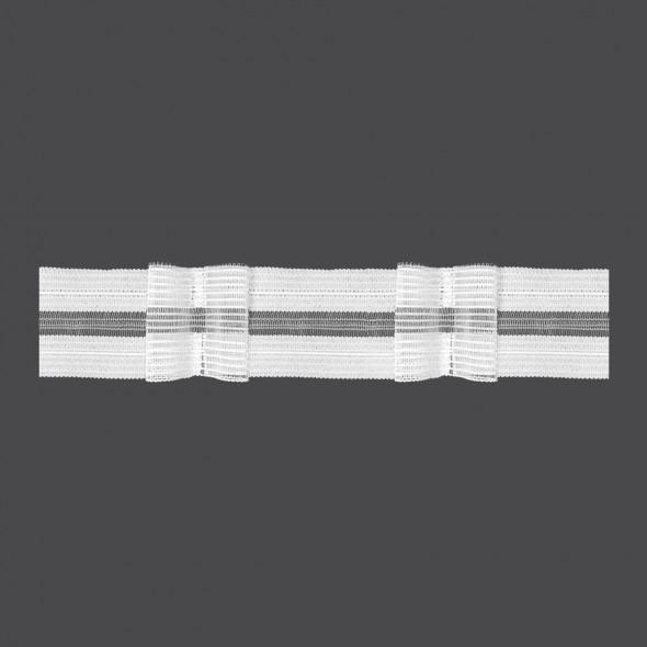 Taśma rzepowa z podwójną zakładką M/RU2 - 1:2 - 5 cm