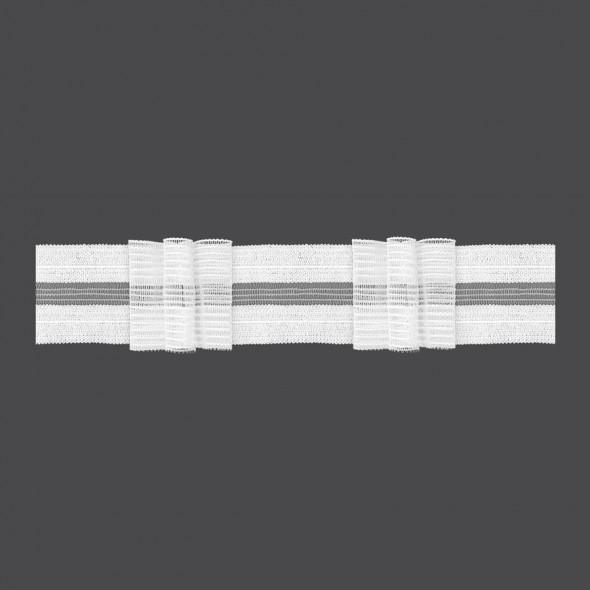 Taśma rzepowa z potrójną zakładką M/RU3 - 1:2,5 - 5 cm