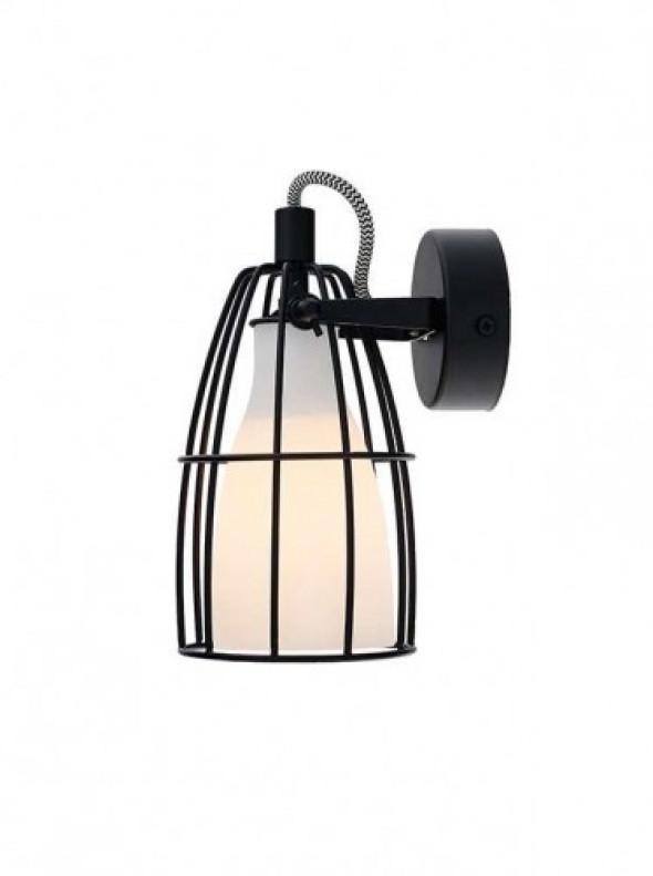 Kaspa Frame 1 50571101 lampa wisząca , czarna