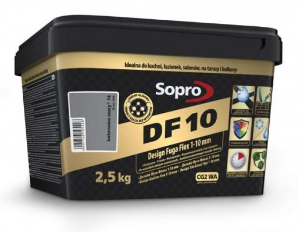 Sopro DF10 fuga betonowo-szara 14 , 2,5kg