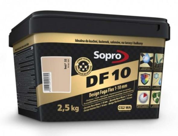 Sopro DF10 fuga beżowa 32 , 2,5kg
