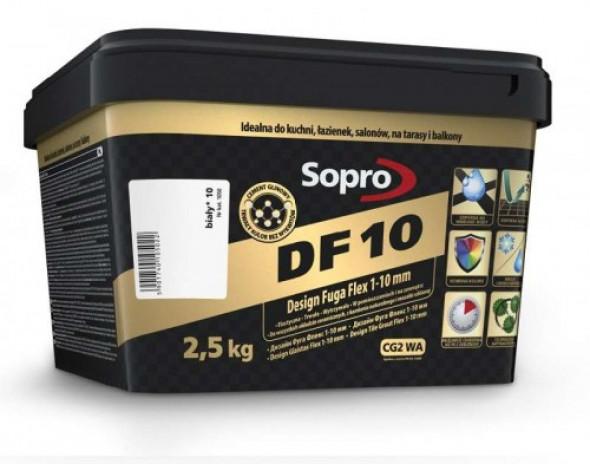 Sopro DF10 fuga biała 10 , 2,5kg
