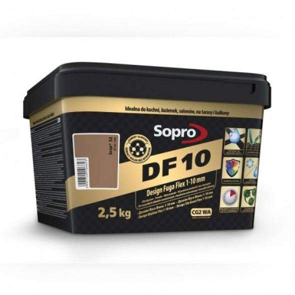 Sopro DF10 fuga brąz 52 , 2,5kg