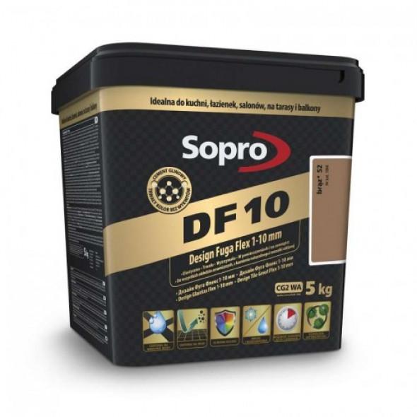 Sopro DF10 fuga brąz 52 , 5kg