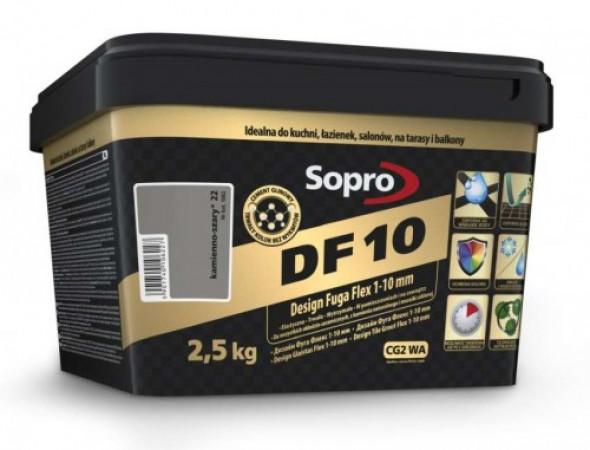 Sopro DF10 fuga kamienno-szara 22 , 2,5kg