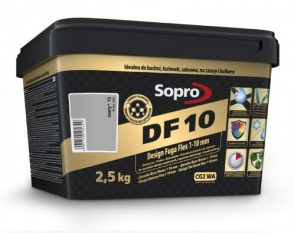 Sopro DF10 fuga szara 15 , 2,5kg