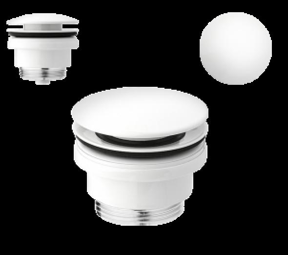 Vedo Uno VSY4000BI korek umywalkowy klik-klak biały