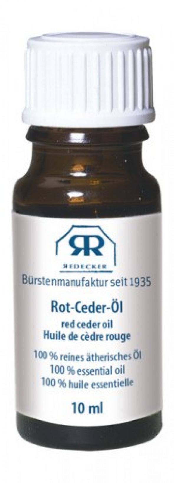 Naturalny Olejek Cedrowy Redecker Czerwony 10ml