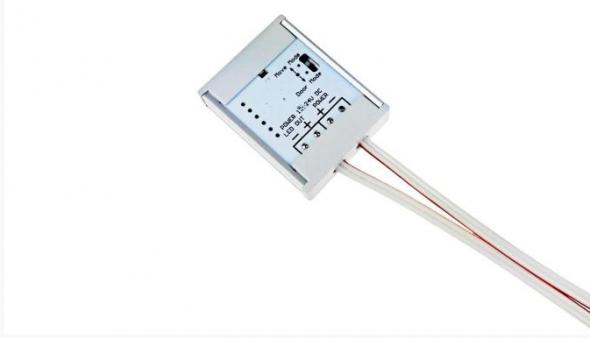 Czujnik meblowy - uniwersalny 3w1 otwartych drzwi / ruchu / zbliżeniowy 12V-24V 36W