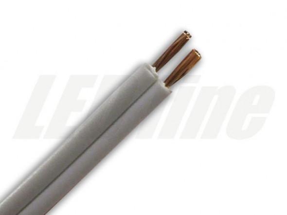 Kabel - przewód SMYP 2x0,35mm biały