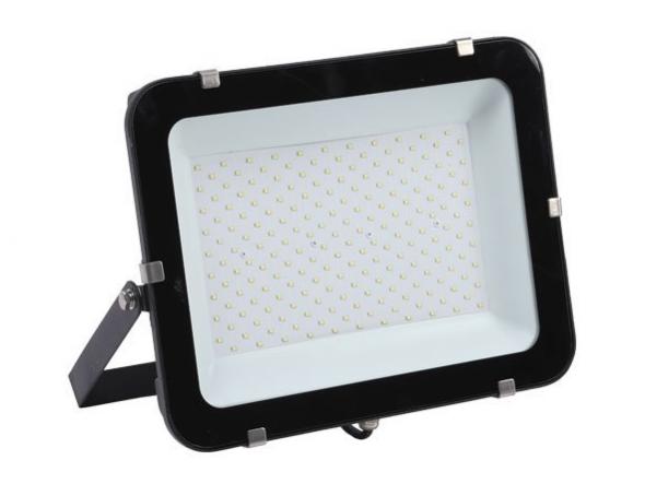 Naświetlacz OPTONICA® 200W LED SLIM czarny 4000K IP65