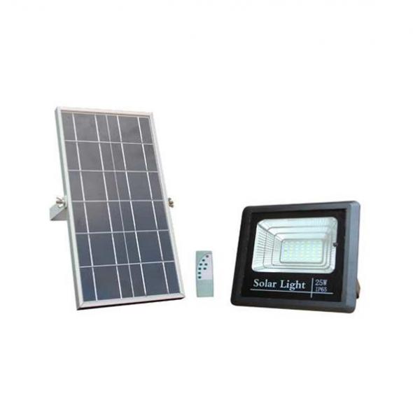 Naświetlacz solarny OPTONICA 25W czarny 6000K IP65