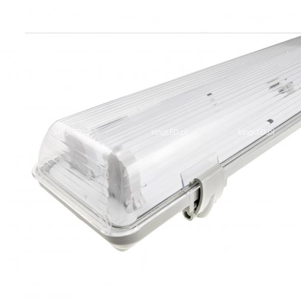 Oprawa do ŚWIETLÓWKA LED pojedyncza T8 60cm Wodoodporna IP65