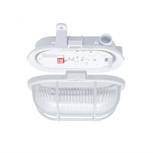 Oprawa piwniczna zoomLED® 3,6W LED SAMSUNG z czujnikiem ruchu i zmierzchu 4000K Dzienny