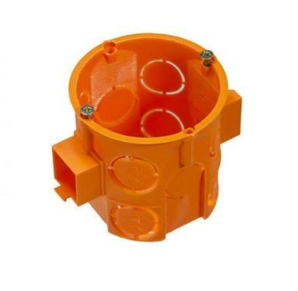 Puszka podtynkowa 60 mm pomarańczowa uniwersalna