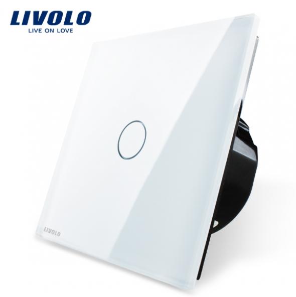 Ściemniacz dotykowy do żarówek LED 230V - biały LIVOLO