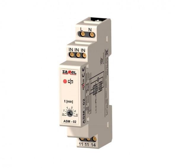 Wyłącznik czasowy - automat schodowy z funkcją przeciwblokady - DIN 230V