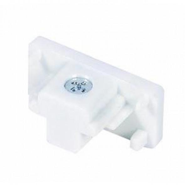 Zaślepka biała do szyny 1 fazowej