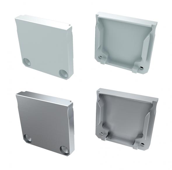 Zaślepka boczna do profilu architektonicznego DILEDA nawierzchniowego aluminiowa