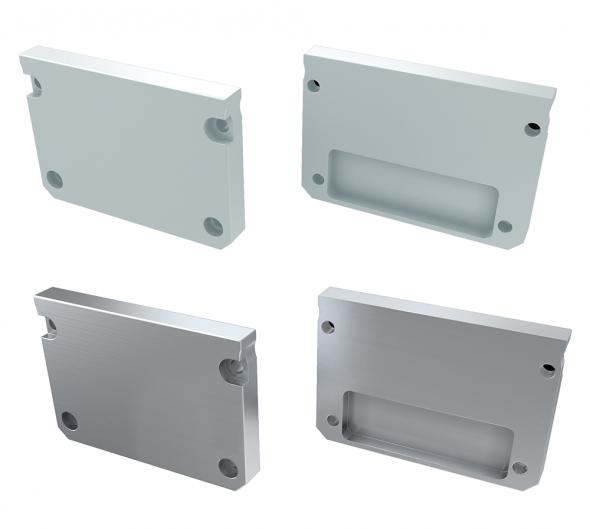 Zaślepka boczna do profilu architektonicznego ILEDO aluminium