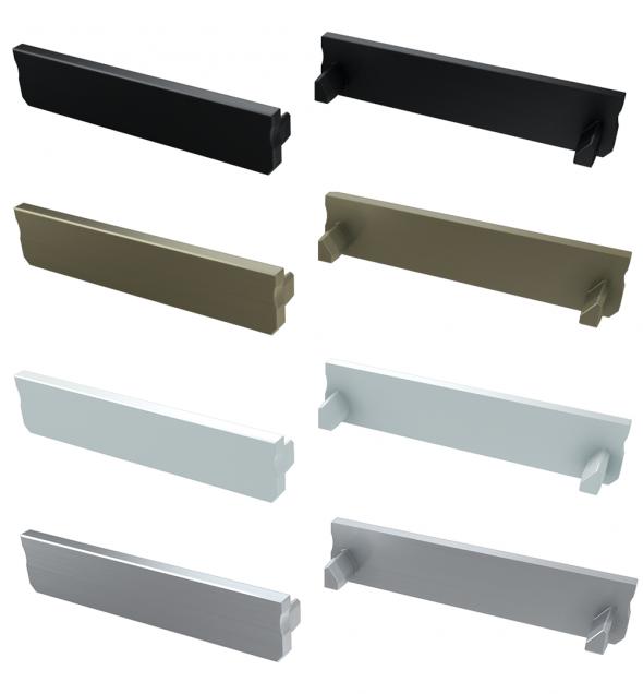 Zaślepka boczna do profilu architektonicznego SOLIS aluminium