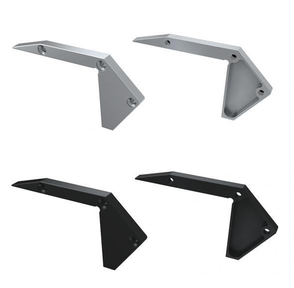 Zaślepka boczna do profilu schodowego SCALA nawierzchniowego aluminium