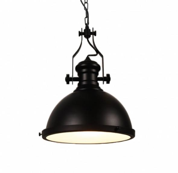 LAMPA WISZACA INDUSTRIALNA CZARNA DUZA ELIGIO W3