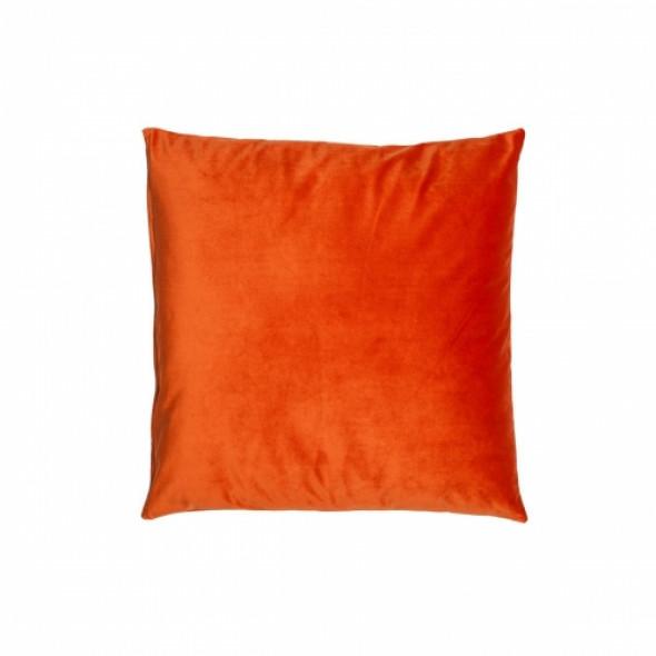 Śliczna aksamitna poduszka OLMOST LOVE Pomarańczowa