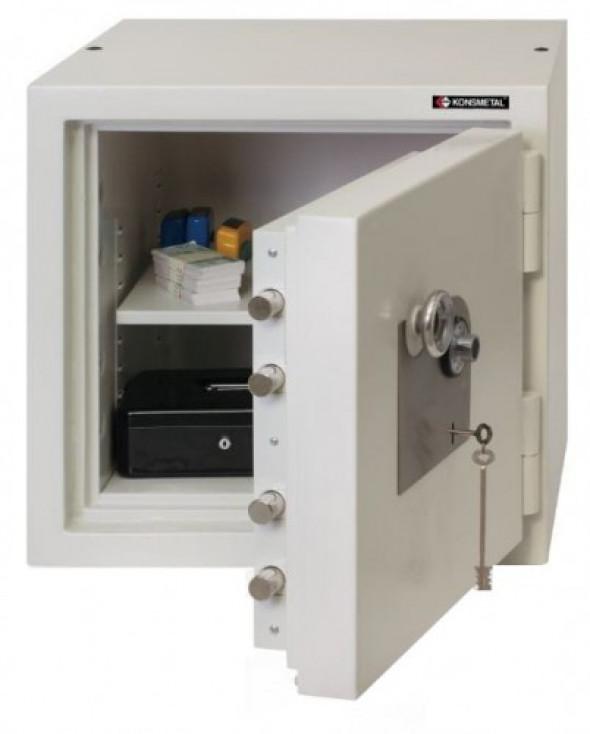 Kasa pancerna KP 67 E (kl. II) Konsmetal - zamek elektroniczny Combogard