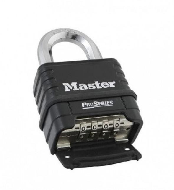 Kłódka szyfrowa wodoodporna w gumowej obudowie EXCELL M178EURD Master Lock