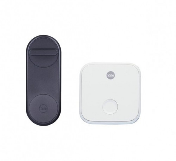 Zestaw inteligentny zamek Yale Linus® Smart Lock + WiFi Bridge