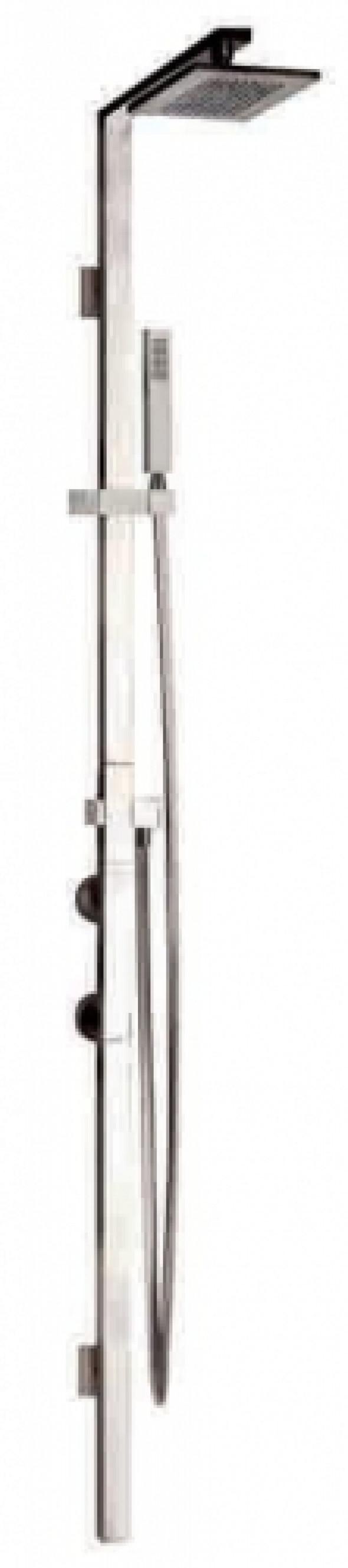 Gessi Rettangolo zestaw natryskowy termostatyczny z deszczownicą chrom 23409.031