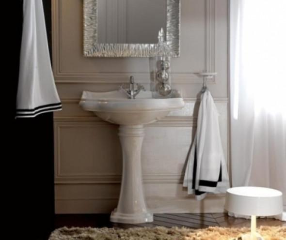 Kerasan umywalka Retro 69 biała 1046