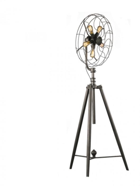 Lampa stojąca GEORGETOWN silver na trójnogu