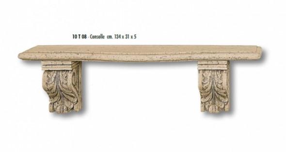 Półka Trawertynowa CONSOLE 134x31 cm